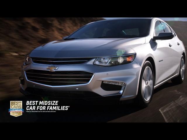 Central NY Chevy Dealers – 2017 Chevrolet Malibu - YouTube