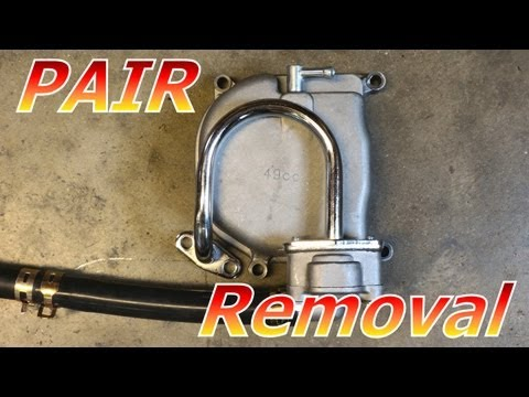 Gy6 50cc Chinese Scooter PAIR System Removal : 139QMB Emissions : Racing Only
