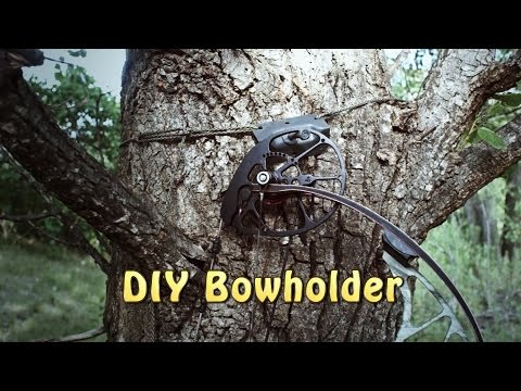 DIY Bow Holder. Utility Hook - Light and Strong!!