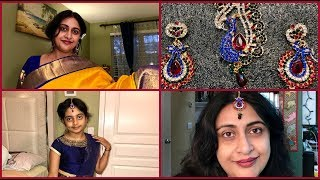 How Is My New Jewelry Set Looking... | Indian (NRI) Mom | Simple Living Wise Thinking
