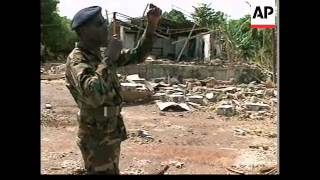 GUINEA BISSAU: GOVERNMENT FORCES ATTACKED BY REBELS