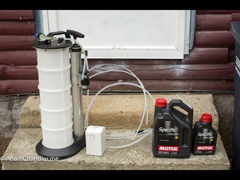 Oil Change w/ Mityvac 7201 Fluid Evacuator Plus, Volkswagen MK7 Golf, GTI, Golf R How-To