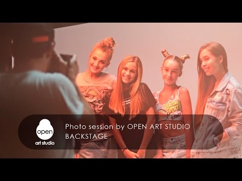Photo session by Open Art Studio - Backstage