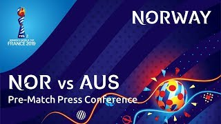 NOR v. AUS : Norway Pre-Match Press Conference