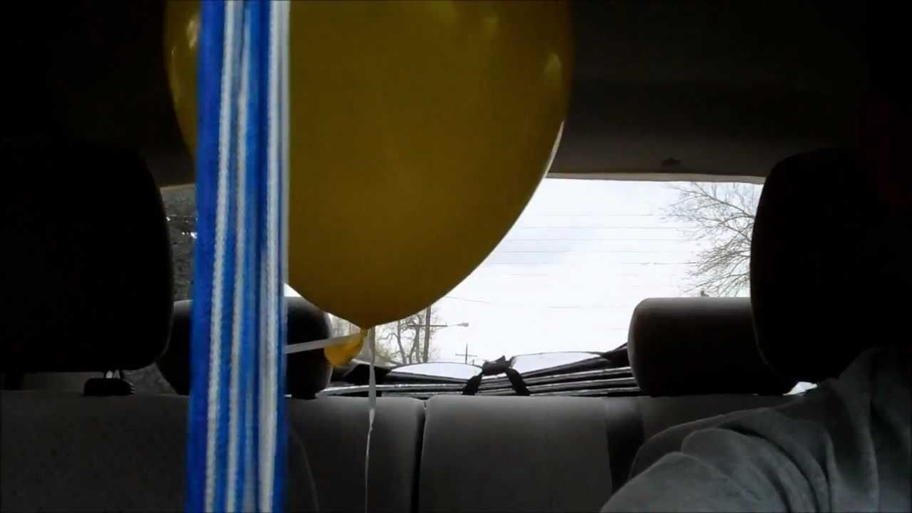 Physics Balloon Car Physics Experiment Balloon in