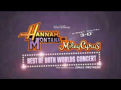 Hannah Montana and Miley Cyrus: Best of Both Worlds Concert Trailer