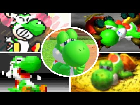 Evolution of Yoshi Deaths and Game Over Screens (1990-2017)