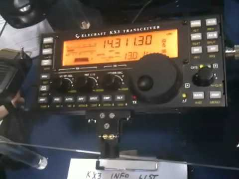 Hamvention 2011 ELECRAFT KX3