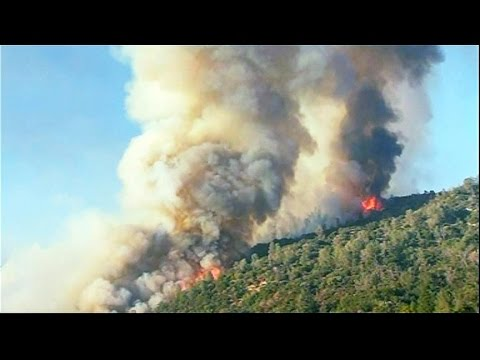 Calif. wildfire threatening 500 structures