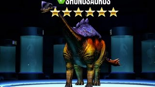 SHUNOSAURUS - LVL 40 - Jurassic World The Game