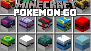 MINECRAFT POKEMON GO MOD / CATCH ALL POKEMON AND MAKE THEM FIGHT WITH EACH OTHER!!