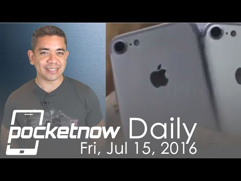 iPhone 7 leaked on video, Galaxy Note 7 FCC details & more - Pocketnow Daily