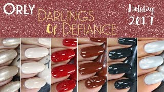 Orly: Darlings of Defiance Holiday 2017 collection