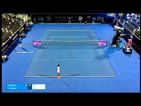 Heather Watson vs Johanna Larsson - Full Match