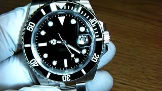 Parnis Sterile-Dial Submariner Men