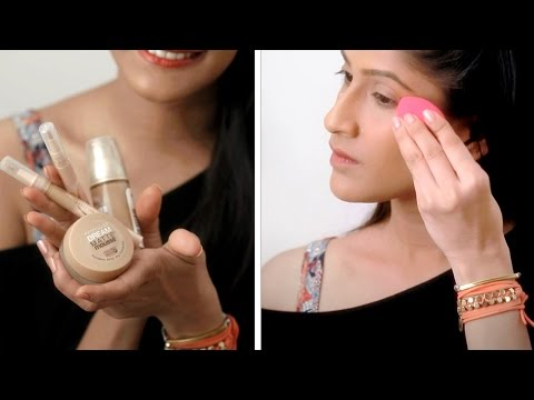 How To Apply Foundation For Full Coverage | Foundation Routine And Makeup Tips