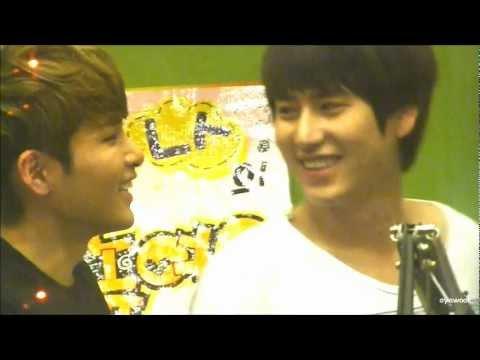 120815 [fancam] sukira ryeowook and kyuhyun