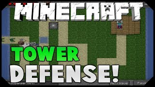 TOWER DEFENSE! ( Build Towers To Defend Your Base! )