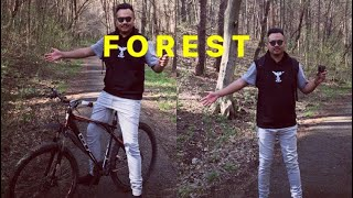 Hello,Forest Russia (vladikavkaz) cycle awaiba vlog 21