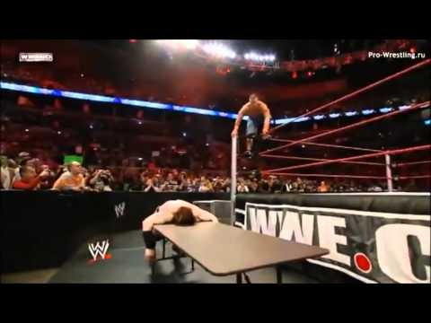 John Cena Vs  Sheamus Wwe Championship Tables Match (full Match) video