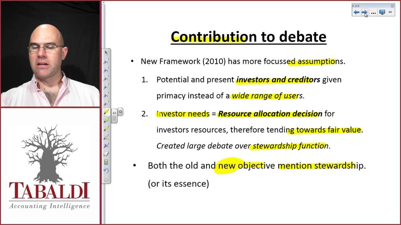 2010 Conceptual Framework Conceptual Framework