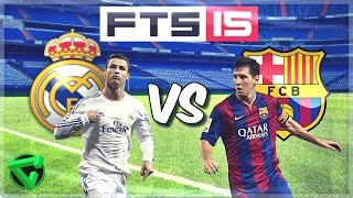 First Touch Soccer 15 | Real Madrid Vs Barcelona | Android Gameplay