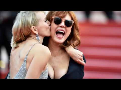 Susan Sarandon's cleavage has and always will be the MVP of Cannes thumbnail