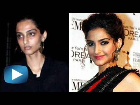 Bollywood Actresses Without Makeup - Funny Video