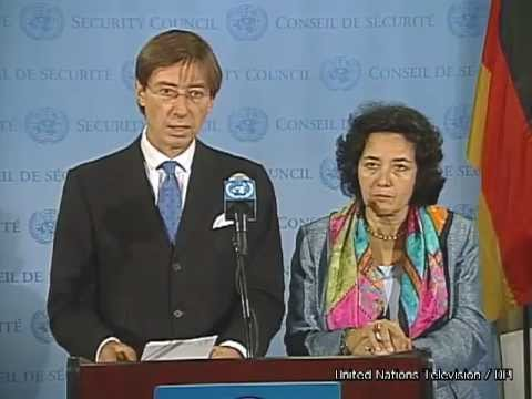 Security Council Stakeout: Ambassador Wittig on Children and Armed Conflict, 19 Sept 2012