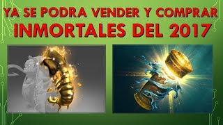 Ya se Podrán Vender y Comprar Los Inmortales del 2017