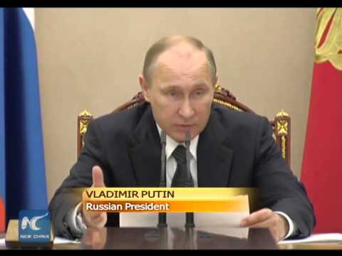 Putin calls for budget changes amid warning to Ukraine over gas payment