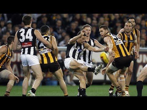Eddie and Mick's raw emotion: Magpies v Hawks, 2011 | AAMI Classic Last Two Mins  | AFL