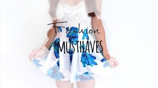 FASHION MUSTHAVES FOR SUMMER  - A Lookbook ▹ Zaramiraa ♡