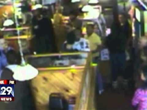 Cop Strangles Cop: Caught on Video -- Philadelphia, PA -- Joshua Arroyo