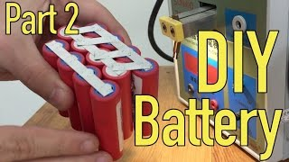 Diy Lithium Battery  Spot Welding  Part 2 5