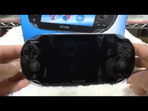 PS Vita Recovery Menu (full first video)