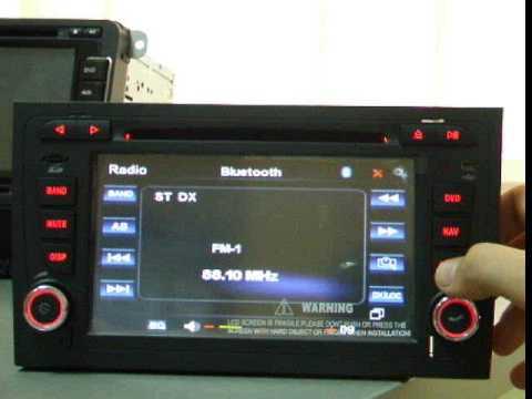 Sisteme de navigatie TTi 7901, pentru Audi A4, 2002 2004