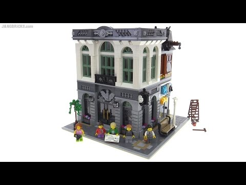LEGO Creator Brick Bank detailed review! set 10251