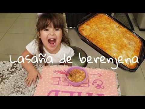 LASAÑA DE BERENJENA - LA MAMA COCINORA