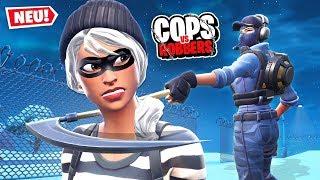 *NEU* COPS vs VERBRECHER in Fortnite!