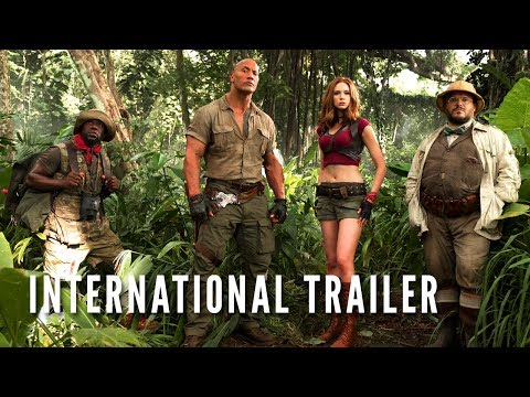JUMANJI: WELCOME TO THE JUNGLE -  International Trailer (HD) streaming vf