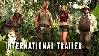 JUMANJI: WELCOME TO THE JUNGLE -  International Trailer (HD)