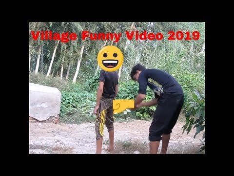 Must Watch village funny video 2019 try not to laugh