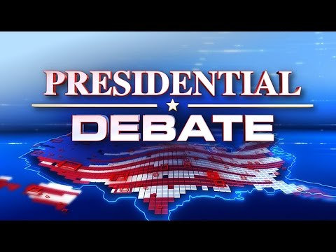 Presidential Debate September 26, 2016