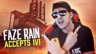 FaZe Rain Accepts 1v1