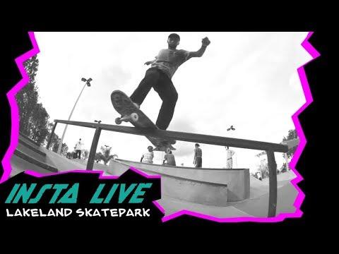 SC Insta Live at Lakeland Skatpark