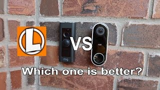 Nest Hello vs Ring Video Doorbell Pro - Comparison Of Features, Audio Video Test Footage