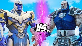 THANOS vs DARKSEID - Epic Battle | Thanos Fortnite