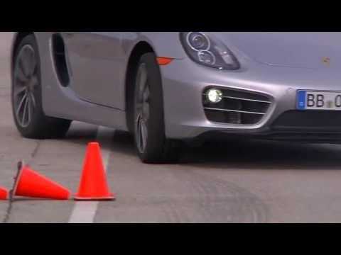 Porsche Cayman: промо