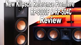 Klipsch RP-8000F & RP-504C Reference Premiere Review | RP-280F & RP-450C Upgrade??